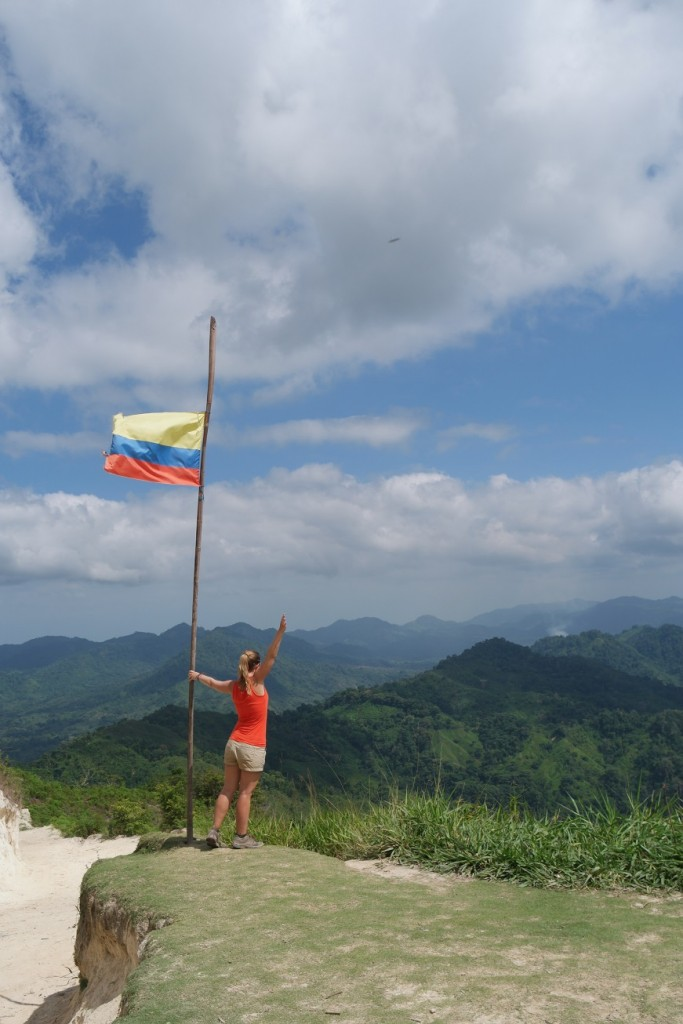 Colombian Flag Sierra Nevada
