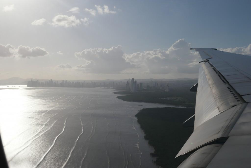 Panama-stad luchtfoto