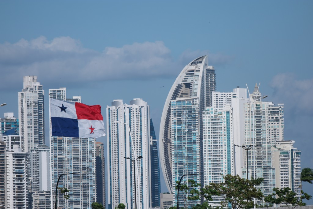 Panama-city skyscrapers