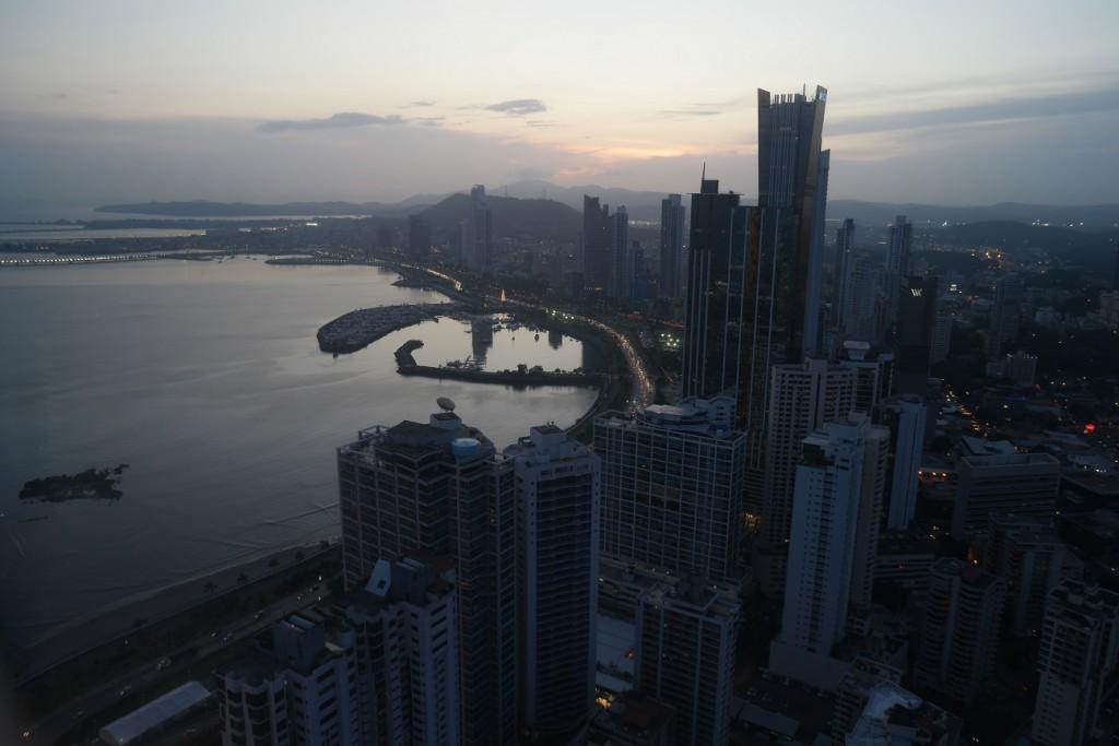 Panama-city vanaf Hardrock hotel