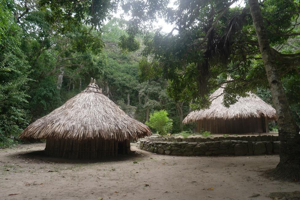 Pueblito dorp tayron nationaal park