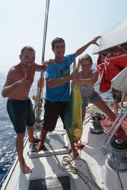 San Blas Jacqueline vis vangen