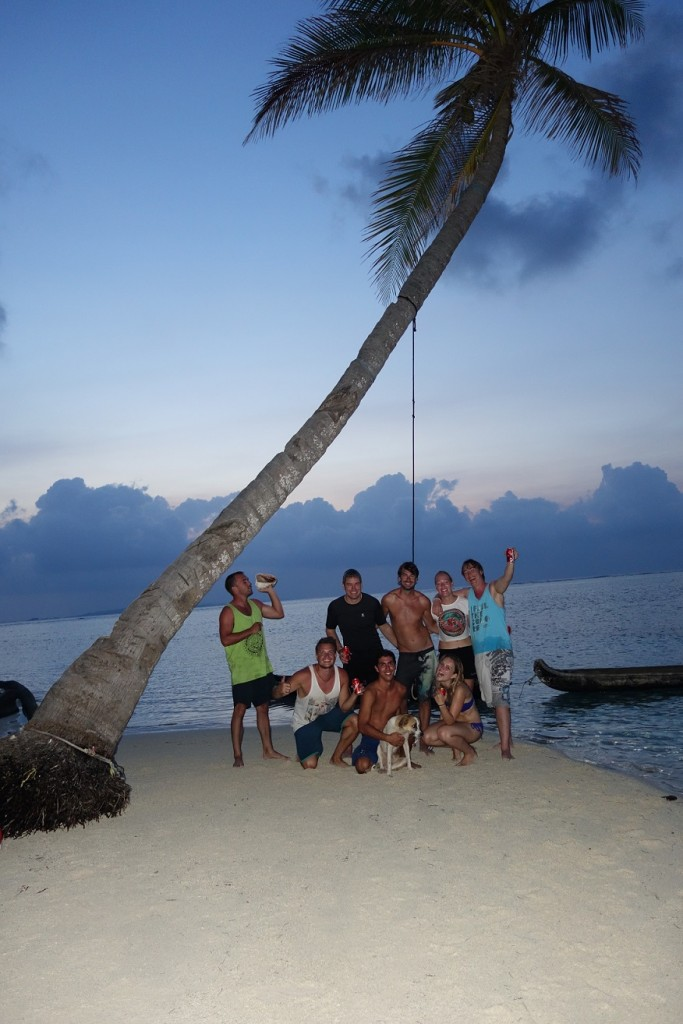 San Blas boot Jacqueline zeilen groep