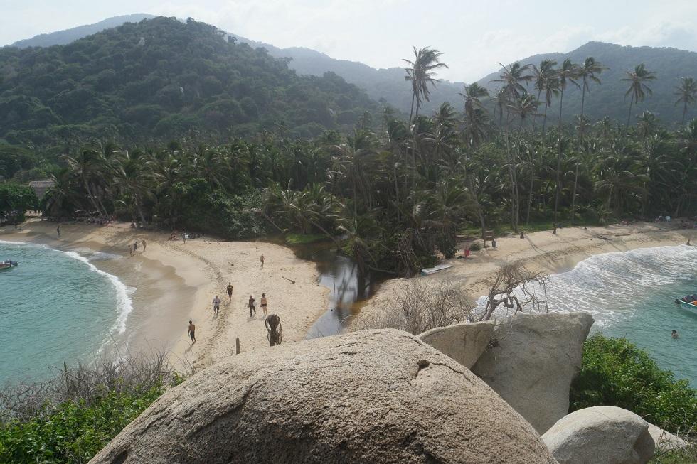 Tayrona national park mirador
