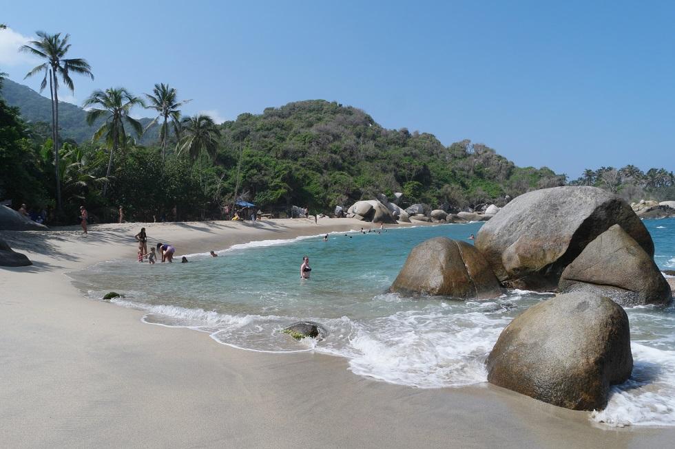 piscina zwemmen tayrona nationaal park
