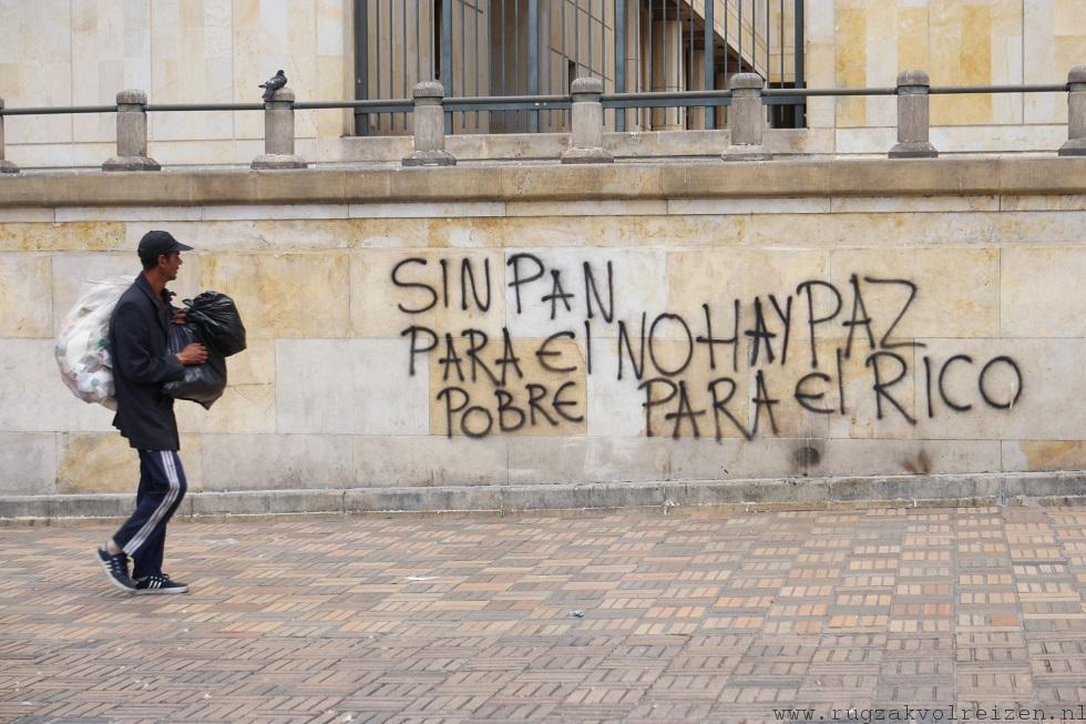 Arm Rijk Colombia verschil