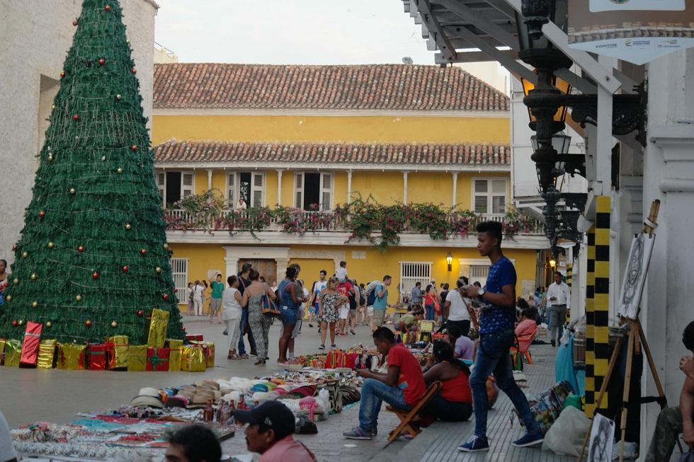 Verkoop straat Colombia Cartagena