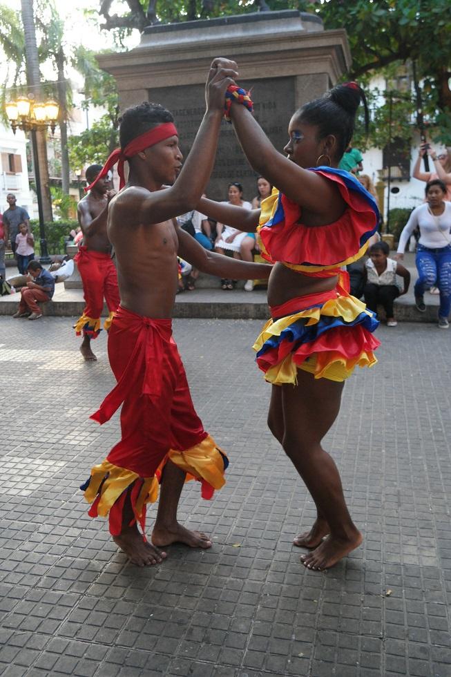 dansen afrikaans Cartagena
