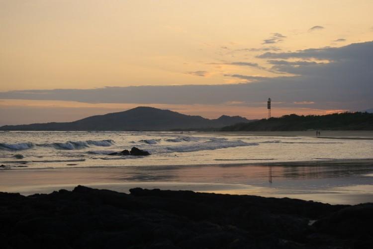 Galapagos zonsondergang