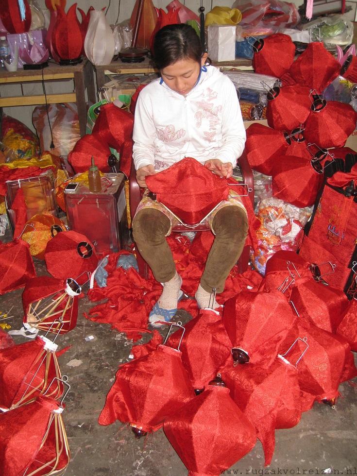 Hoi An lampionnen fabriek Vietnam 3