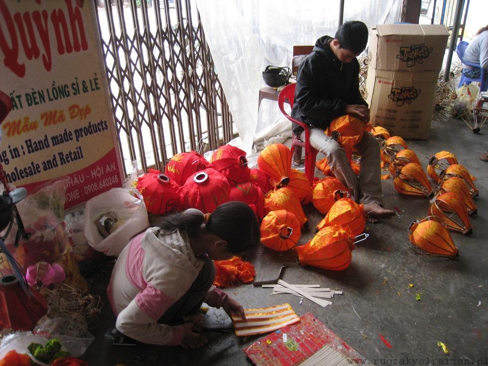Hoi An lampionnen fabriek Vietnam 4