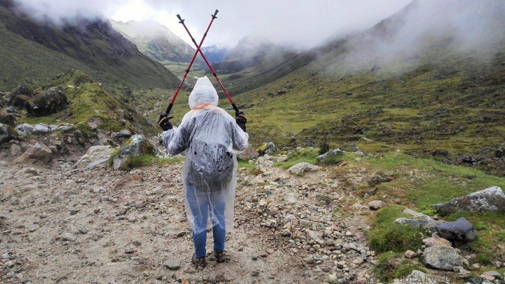 Salkantay trek Machu Pichu regen