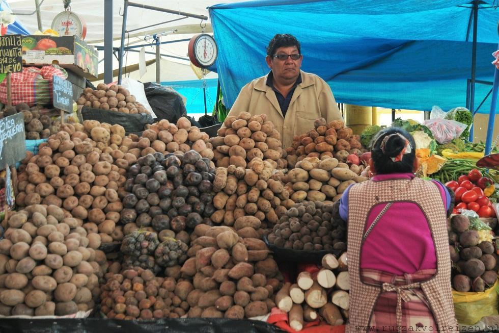 Aardappelen Peru