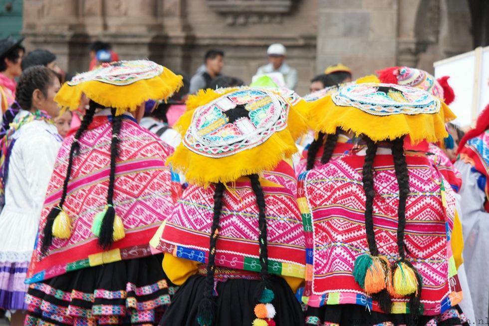 Peru traditionele kleding