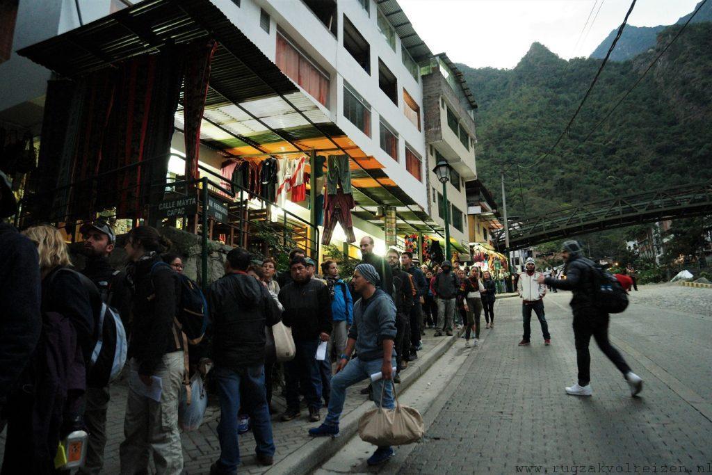 Bussen Machu Picchu