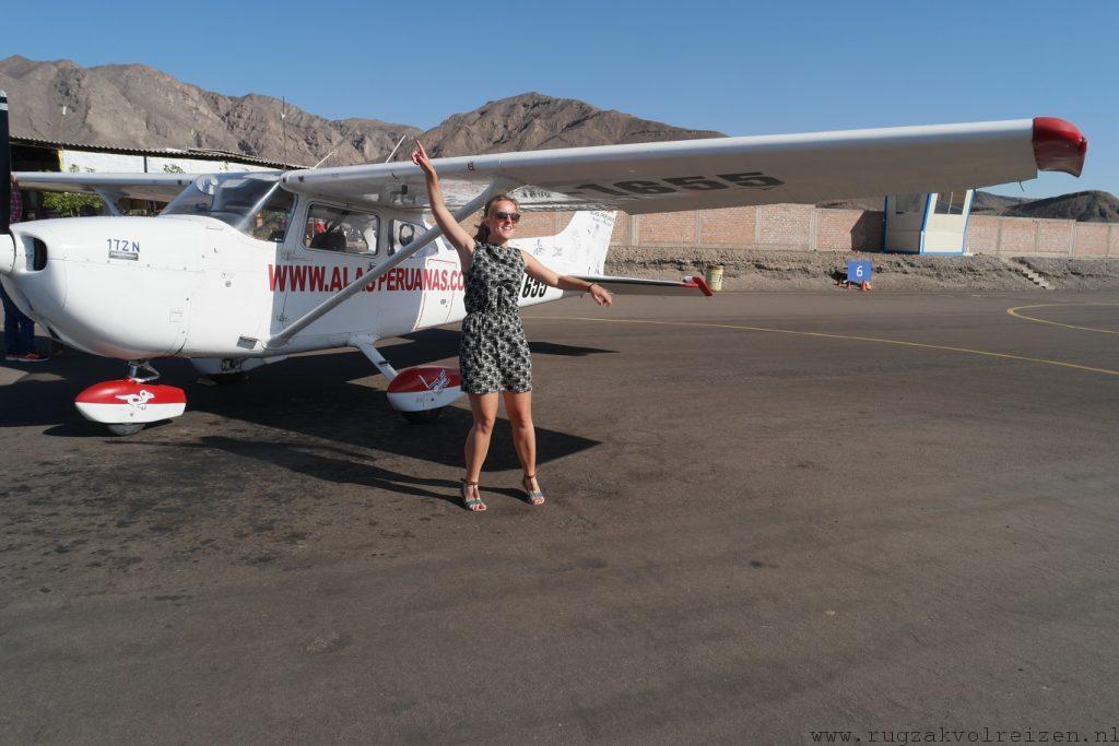 Nazca vliegtuig