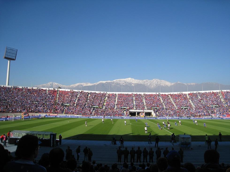 voetbalwedstrijd santiago