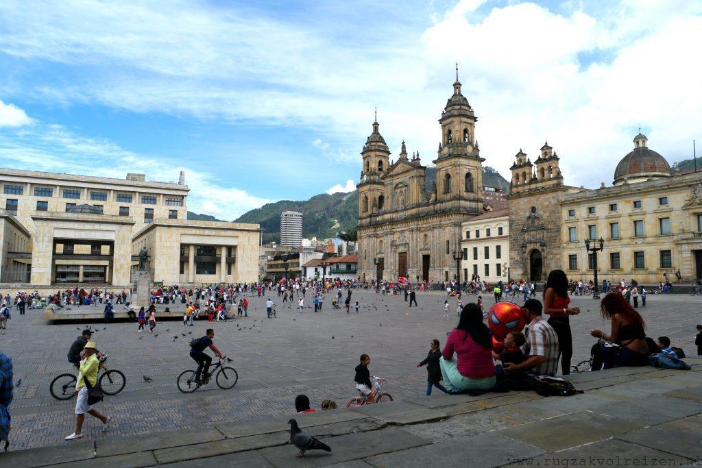 Bogota Simon Bolivar plein