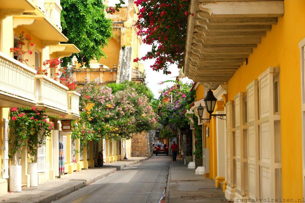 Cartagena straat