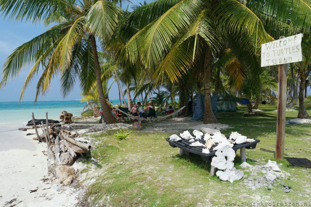 San Blas Turtle eiland