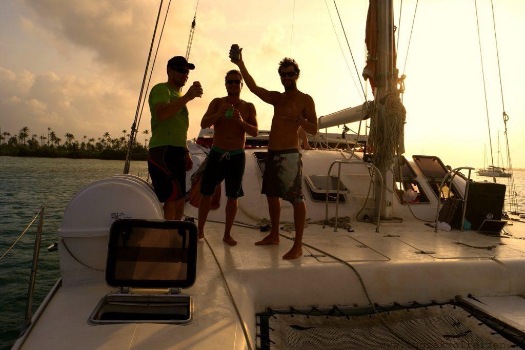San Blas eilanden zeilboot