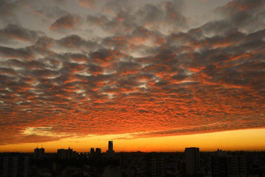 Sunset thuis in Buenos Aires