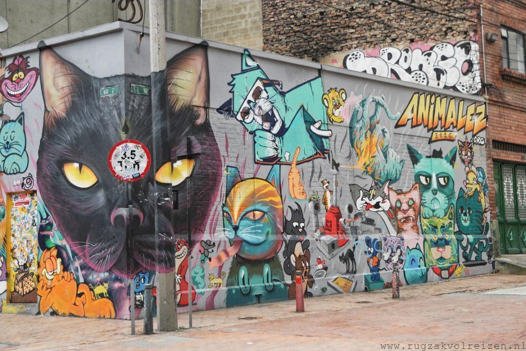 Bogota Graffiti Animalez
