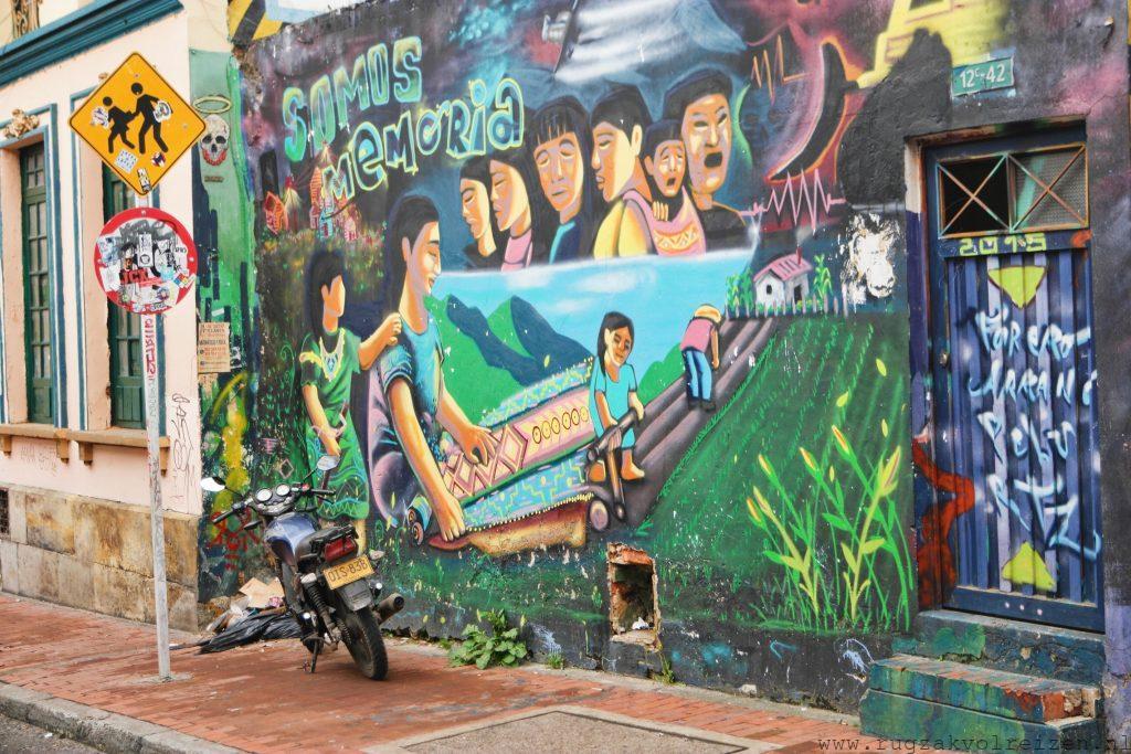 Bogota Graffiti Tour Somos Memoria