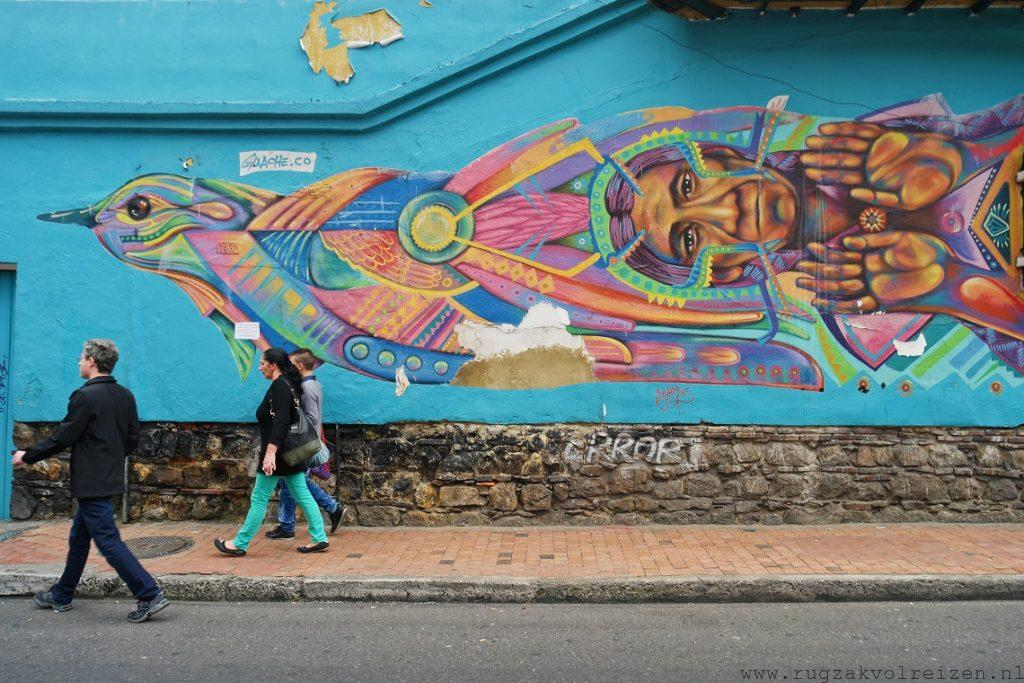 Graffiti in La Candelaria Bogota