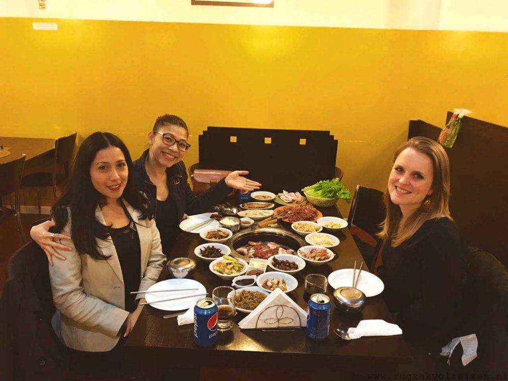 Koreaans eten in Buenos Aires