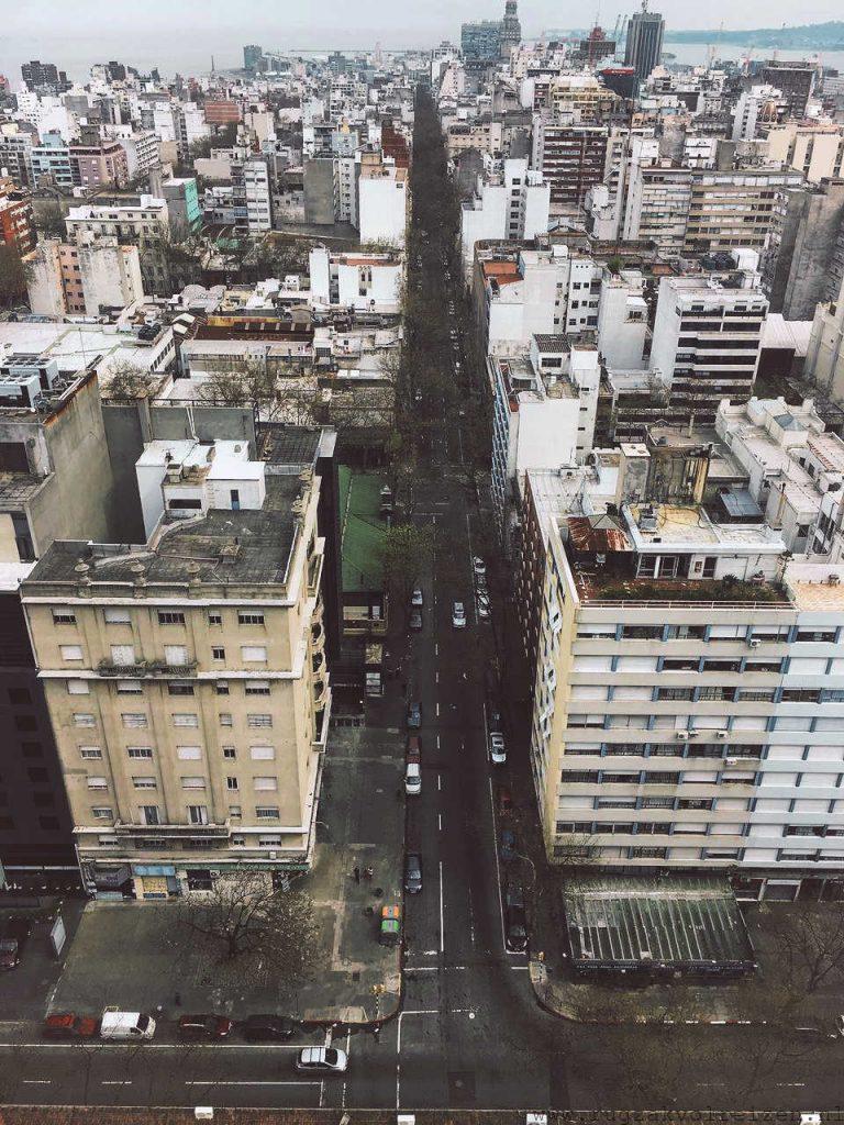 Uitzicht Montevideo
