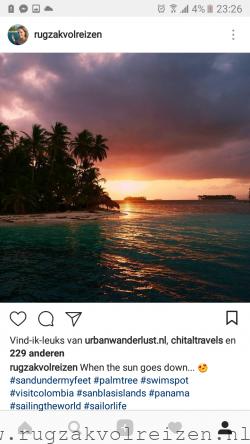 Instagram Rugzak vol Reizen