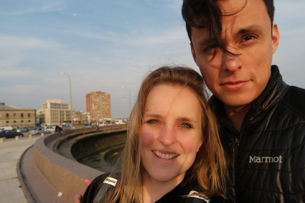 Jorge & ik Montevideo