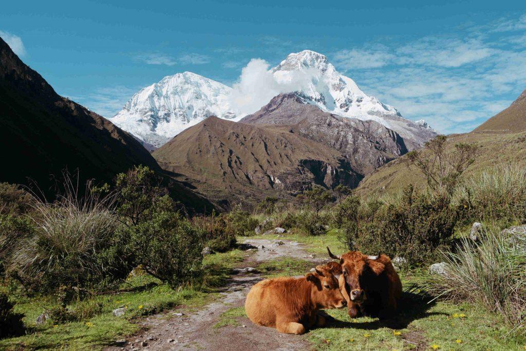 Huascaran hoogste berg Peru