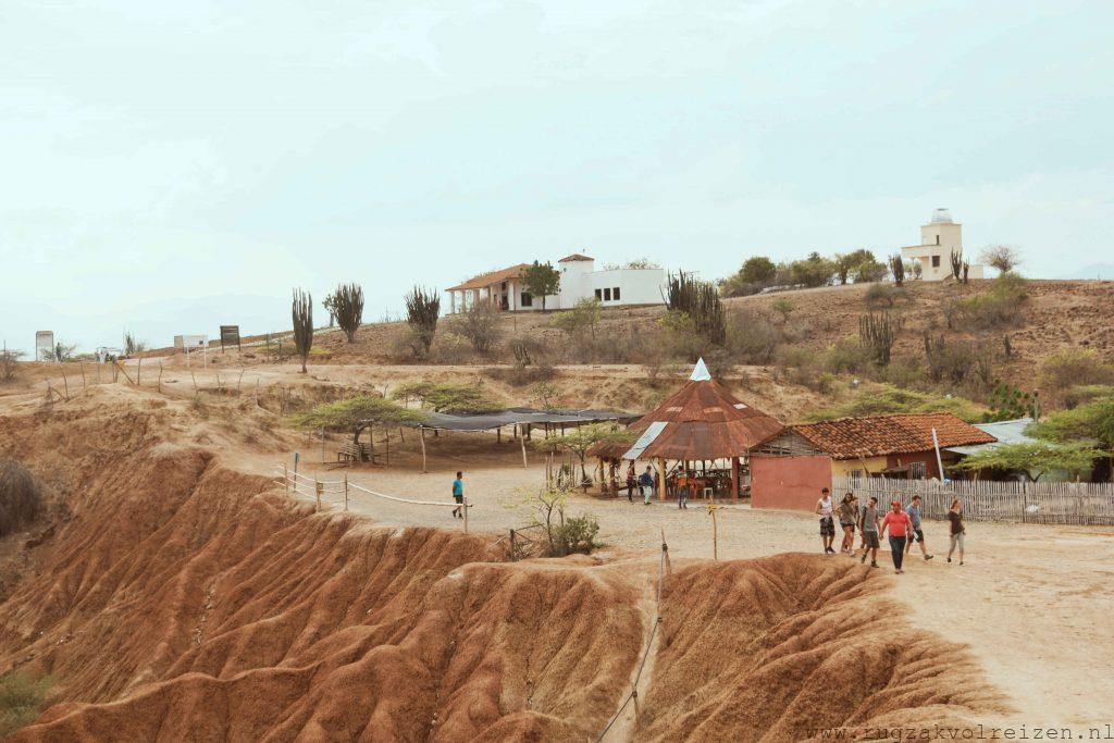 Observatietoren Tatacoa woestijn