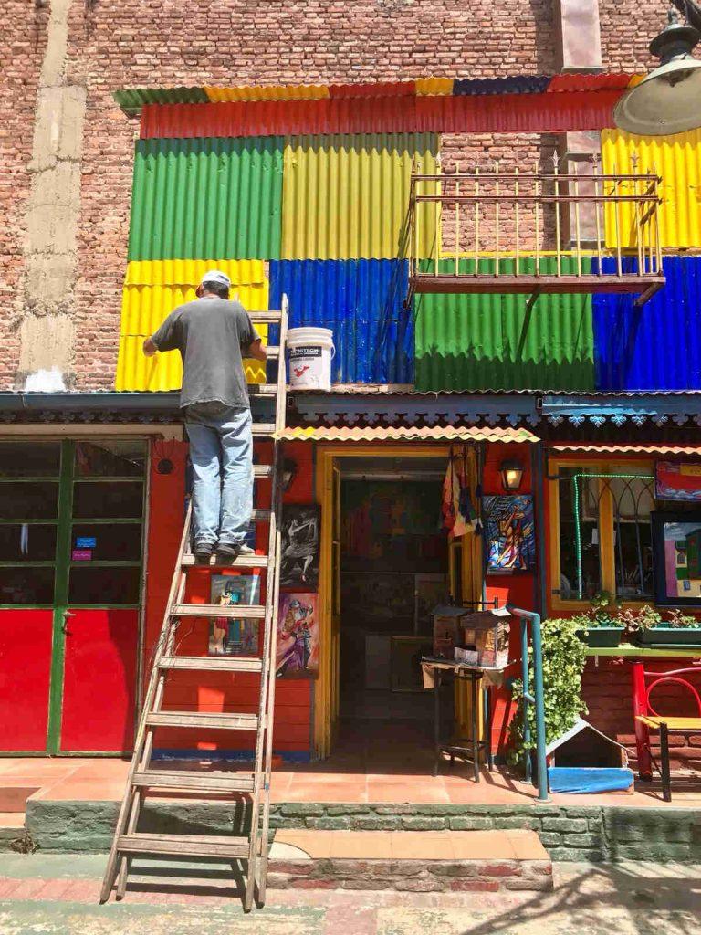 La Boca huis schilderen