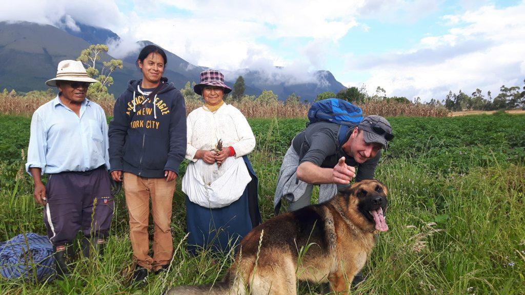 Local Hero Travel - Reizigers bij gezin in Ecuador