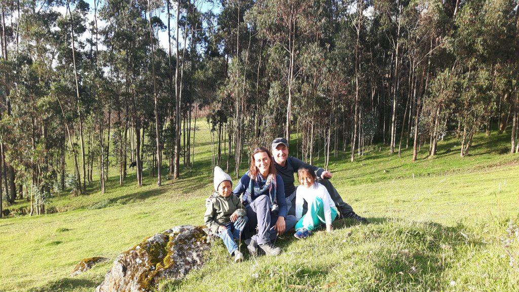 Local Hero Travel - Reizigers bij gezin in Ecuador lluman