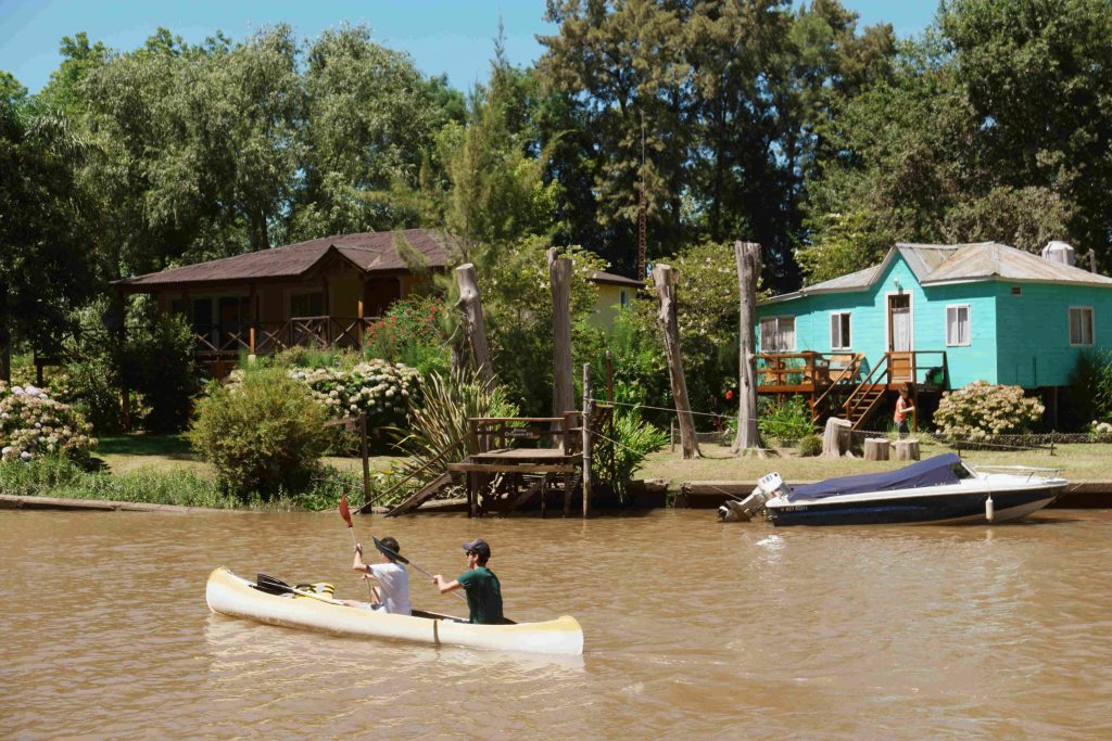 Kayakken in Tigre