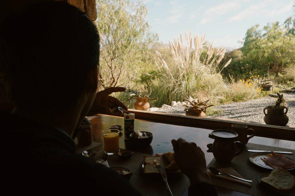 Breakfast Tilcara Jujuy
